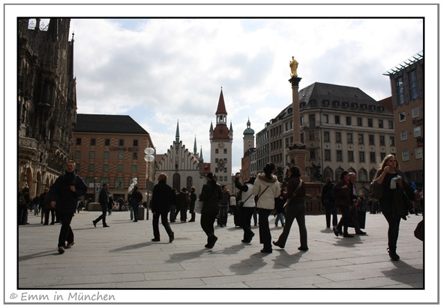 Marienplatz and Altes Rathaus Munich