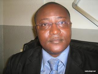 François Nzekuye, invité de Radio Okapi, février 2010.
