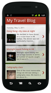 Blogspot Mobile Version