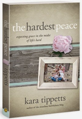 the hardest peace kara tippetts
