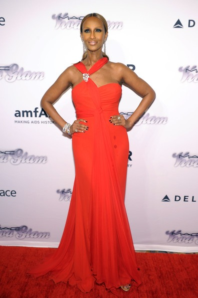 Iman 4th Annual amfAR Inspiration Gala New York