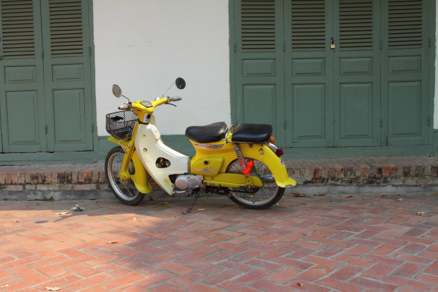 Scooter in Luang Prabang, Laos