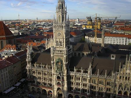 Obiective turistice Germania: Primaria Munchen