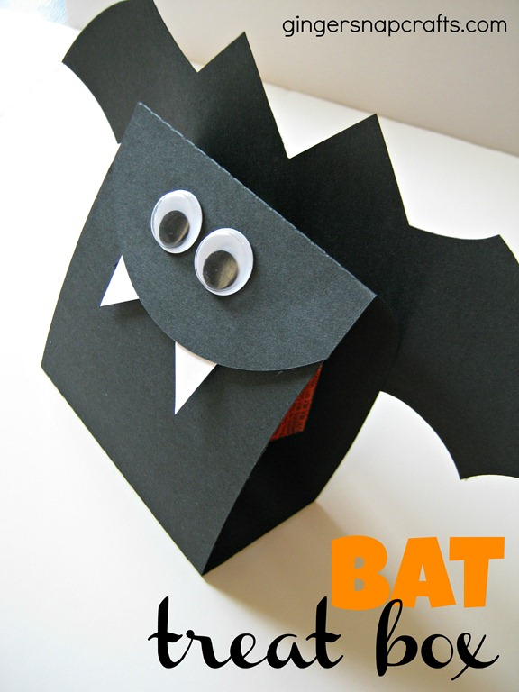 bat treat box from Ginger Snap Crafts
