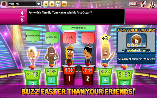 Superbuzzer Trivia Quiz Game 1.3.100 screenshots 2