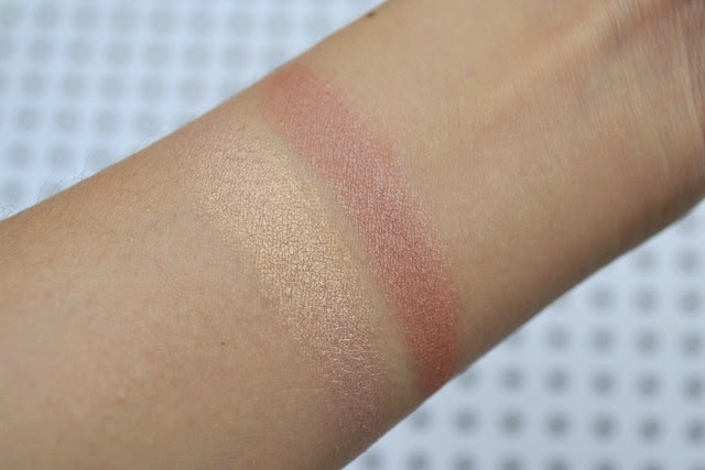 Lise Watier Duo Blush and Glow Swatches