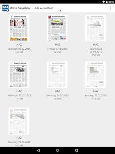 HAZ E-Paper - screenshot thumbnail