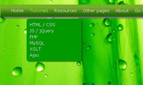 Cómo crear un menú desplegable rápido en CSS3