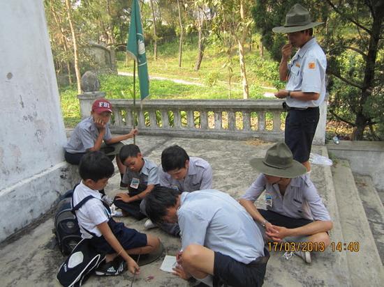 TraiDungThuaThioem2013 26 BHD GĐPT Thừa Thiên tổ chức Trại Dũng năm 2013