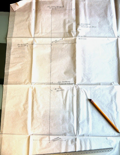 Popolare La mia craft room: Tutorial: creare il cartamodello pantaloni LJ18