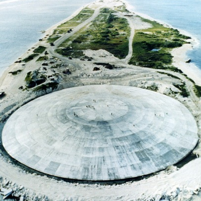 Runit Dome: The Radioactive Trash Can on Enewetak Atoll
