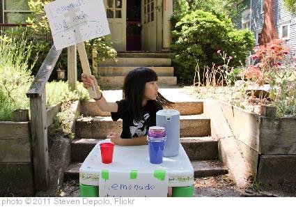 'Lemonade Stand 50 Cents Each Qiqi Lourdie June 24, 20112' photo (c) 2011, Steven Depolo - license: https://creativecommons.org/licenses/by/2.0/