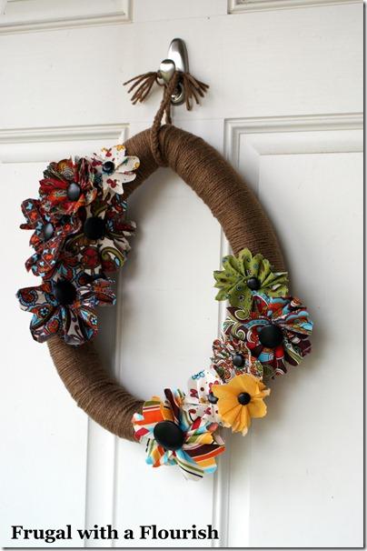 valentine wreath ideas frugal with a flourish september 2011