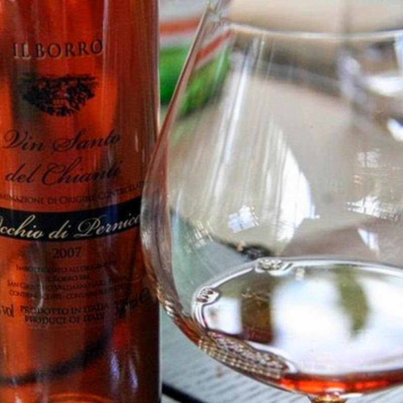 Vin Santo ('Holy Wine') made in Italy.