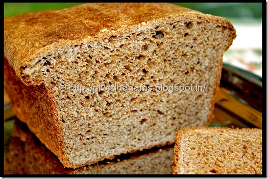 Whole Wheat Honey Buttermilk Bread - IMG_3587