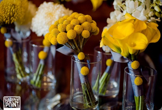 Cori Cook Floral Design White and Yellow Wedding at Crooked Willow