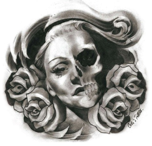 Dbgrrl Black And Grey Tattoo Designs