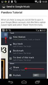 Send to Google Music screenshot 2