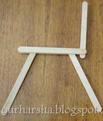Popsicle sticks Chair (19)