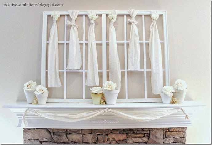 Spring Mantel Front
