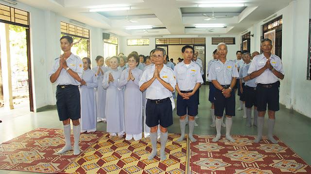 DSC06265 Lễ Hiệp kỵ   Lễ Huý Nhật Cư sĩ Sáng lập viên GĐPT Việt Nam   Tâm Minh Lê Đình Thám
