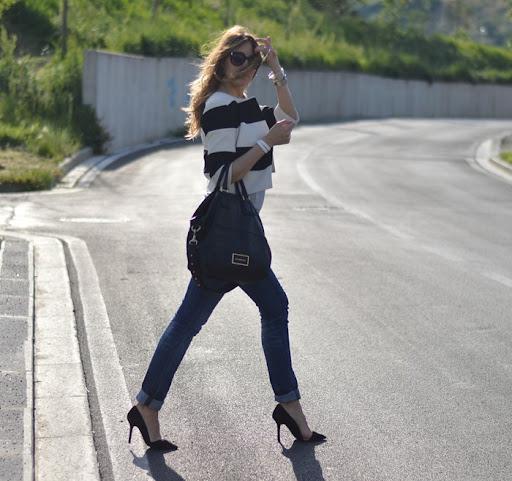 STRIPED JACKET My Fantabulous World Fashion & Lifestyle
