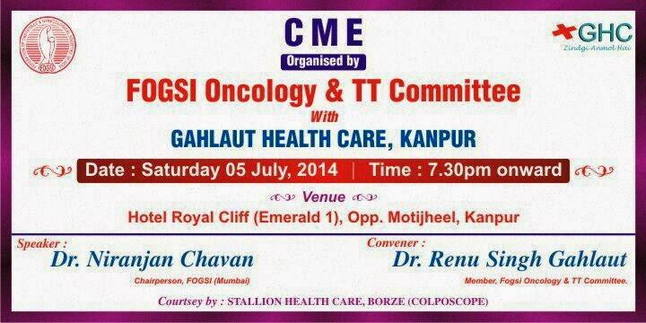 Niranjan Chavan' s Mindspeak : Fogsi Gynecologic Oncology