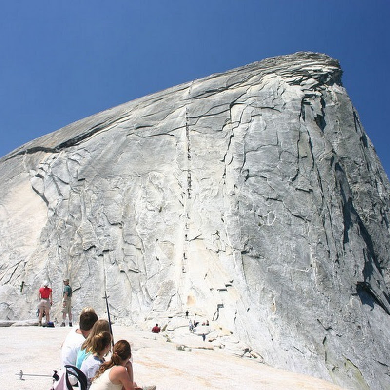 Half Dome, The Granite Peak at Yosemite National Park
