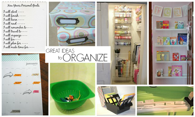 Organization Ideas via homework features