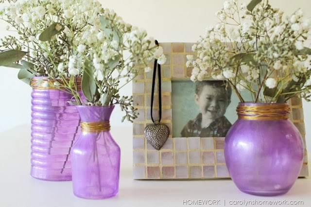 Homemade Glass Paint via homework | carolynshomework.com