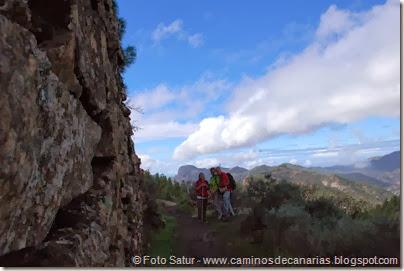 7032 Cruz Tejeda-Artenara-Guardaya(Hoya del Fraile)