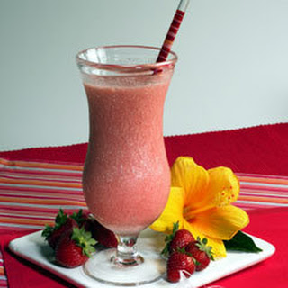Red Tea Harvest Strawberry Smoothie.