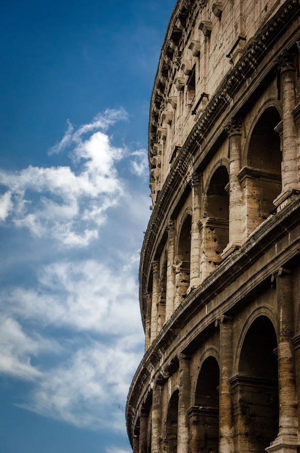 by Byran Forbes - Buildings & Architecture Public & Historical ( colosseum, rome, 2014, roman, italy )