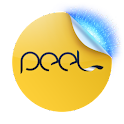 Peel (with TapPlay TV) logo