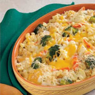 Cheesy Vegetable Medley.