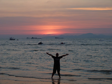 Imagini Thailanda: Apus de soare la Pattaya