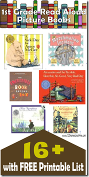 Fun chapter books for 1st graders