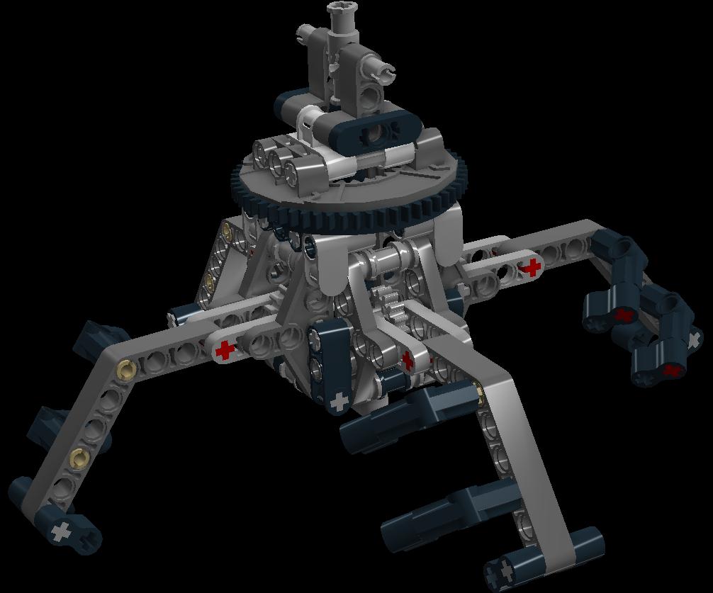 Lego Ev3 Claw Instructions