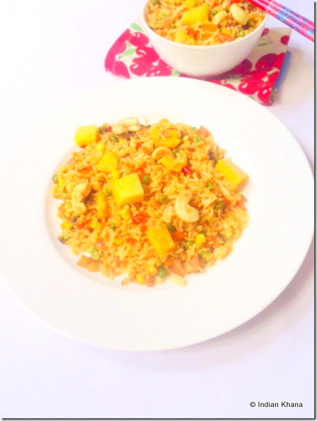 Easy Thai pineapple fried rice recipe