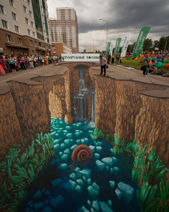 Amazing 3D Street Art Illusions By Edgar Mueller
