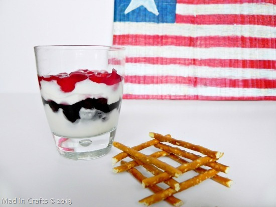 Patriotic Preschool Snack