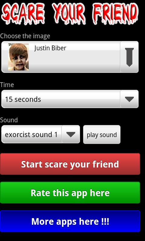 Scare your friends! - screenshot