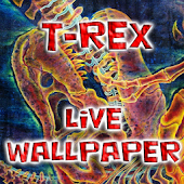 T-Rex Battle Live Wallpaper