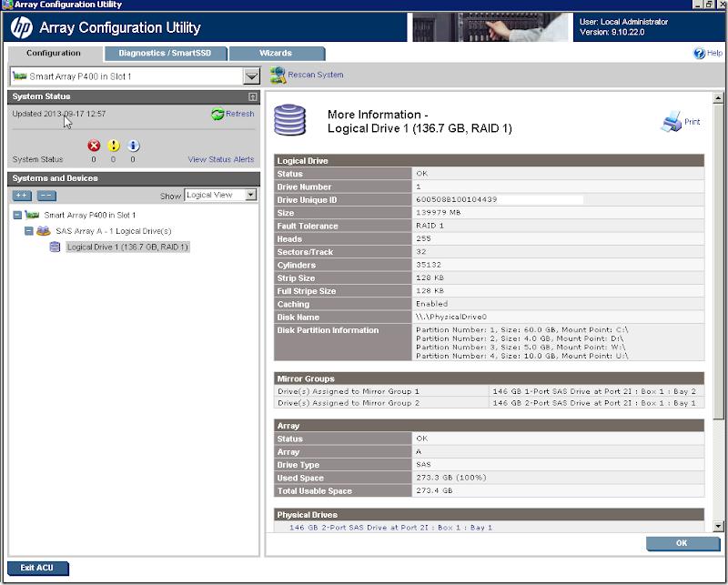 Rozszerzenie RAID-0 + migracja z RAID-0 do RAID-1 przy