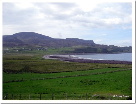 Staffin Bay.