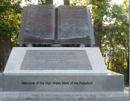Memorial of the High Water Mark of the Rebellion