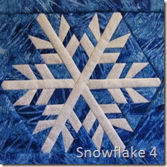 Snowflake 4 cropped square