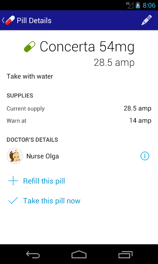 Pills on the Go - Free - screenshot