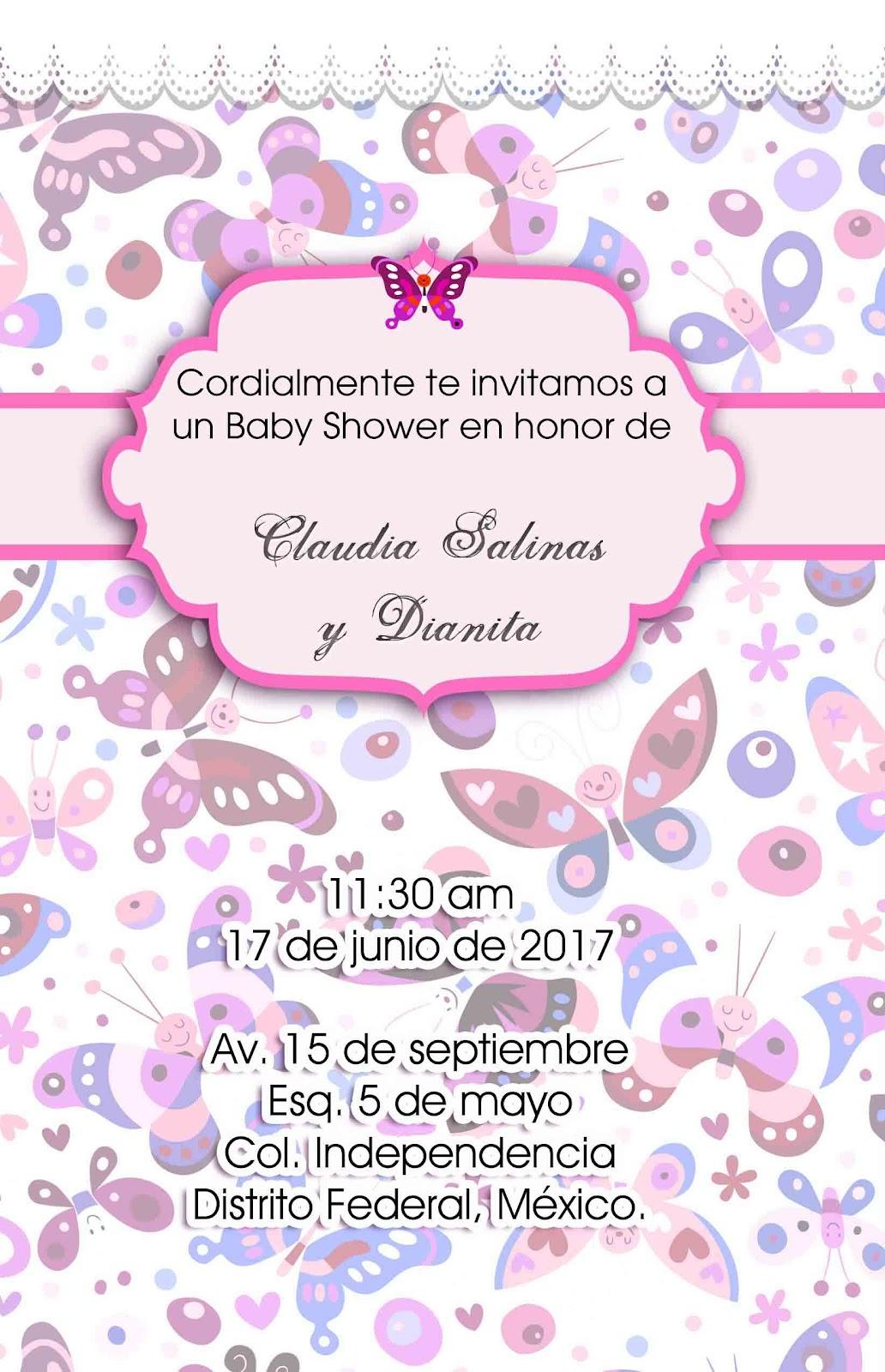 52bcf89b35bae Calendarios 2014  Invitaciones para Baby Shower para niña y niño link