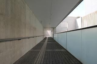 狭山池博物館通路